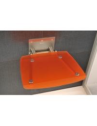 Ravak Ovo B Orange сиденье для душа складное полупрозрачное оранжевое