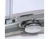 Roltechnik Lega Line LLD4 + LLB – Сборный душевой уголок – раздвижная дверь + стенка
