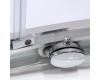 Roltechnik Lega Line LLR2 – Душевой уголок четверть круга с двухстворчатой дверью