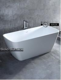 Salini AGATHA Отдельностоящая ванна из литого мрамора