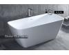 SaIini Agatha 100221 – Отдельностоящая ванна из литьевого мрамора Solix