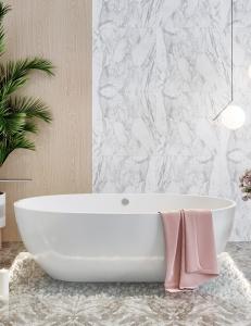 Salini ALDA – Монолитная отдельностоящая ванна из литьевого мрамора