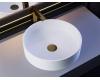 Salini Armonia 202 Накладная круглая раковина из литьевого мрамора Sapirit