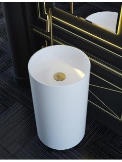 Salini Armonia 201 Отдельностоящая раковина-моноблок из литого камня