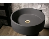 SALINI ETNA E02 (1104302) – Накладная круглая раковина из камня Кристалит