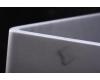 SALINI ETNA E03 Накладная прямоугольная раковина из камня Кристалит