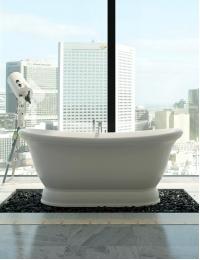 Salini ETTORA – Ванна на подиуме, отдельностоящая в классическом итальянском стиле