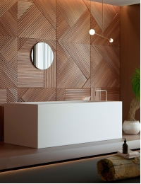 Salini GIOIA – Прямоугольная ванна из минерального литья