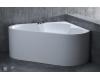 Ванна SALINI IGINA из литьевого мрамора – угловая, пристенная, монолитная