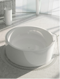 Salini ISOLA – Круглая ванна из минерального литья