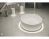 Ванна круглая SALINI ISOLA из литьевого мрамора, диаметр 200 см