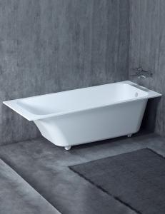 Salini ORLANDO – Встраиваемая прямоугольная ванна из литого мрамора