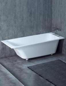 Salini ORLANDO KIT – Встраиваемая прямоугольная ванна из литого мрамора