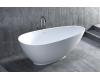 SALINI PAOLA 101512 Ванна из литьевого мрамора асимметричная отдельностоящая