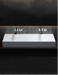 Salini S.r.l Sonata 3-10219S Накладная раковина из материала Solix Solid Surface