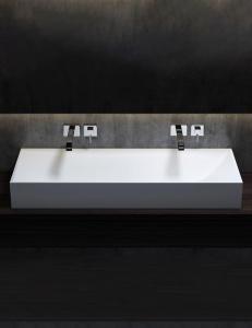 Salini S.r.l Sonata Накладная раковина из материала Solix Solid Surface