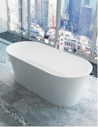 Salini Zoe – Монолитная отдельностоящая ванна из литьевого мрамора