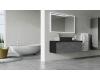 STREET Bathroom Furniture 120 – Тумба со столешницей, 2 ящика, выступающий фасад