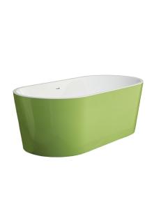 Swedbe Vita 8800G Ванна акриловая отдельностоящая 169х80 см, зеленый