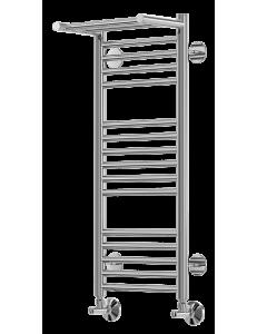 Terminus Аврора – Водяной полотенцесушитель с 1 полкой