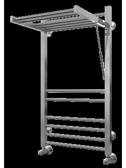 Terminus Валенсия – Водяной полотенцесушитель с встроенной полкой-вешалкой