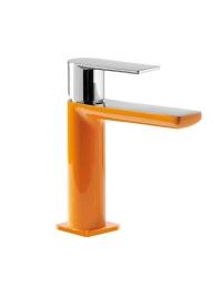 Tres Loft-colors 200.103.01.NAD Смеситель на раковину с донным клапаном, Оранжевый