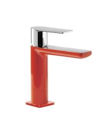 Tres Loft-colors 200.103.01.ROD Смеситель на раковину с донным клапаном, Красный