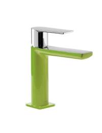 Tres Loft-Colors 200.103.01.VED Смеситель на раковину с донным клапаном, Зелёный