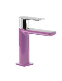 Tres Loft-Colors 200.103.01.VID Смеситель на раковину с донным клапаном, Фиолетовый