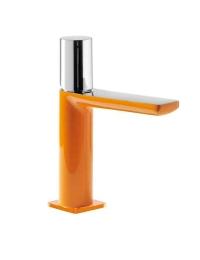 Tres Loft-colors 200.103.02.NAD Смеситель на раковину с донным клапаном, Оранжевый