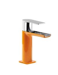 Tres Loft-colors 200.110.01.NAD Каскадный смеситель на раковину, Хром/Оранжевый