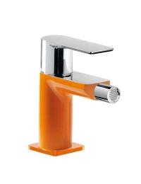 Tres Loft-colors 200.120.01.NAD Смеситель для биде с донным клапаном, Оранжевый