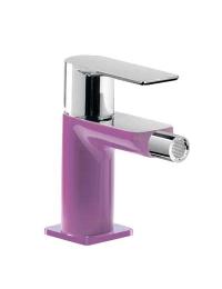 Tres Loft-Colors 200.120.01.VID Смеситель для биде с донным клапаном, Фиолетовый