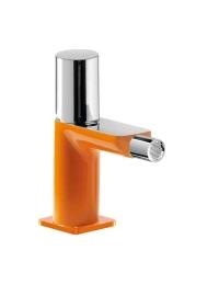 Tres Loft-colors 200.120.02.NAD Смеситель для биде с донным клапаном, Оранжевый