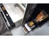 Подвесной пенал для ванной Vallessi 836-W/Z/A с одной распашной дверцей