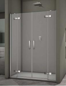 Veconi VN-65 – Душевая дверь в проём, Распашная, Алюминий, 6 мм