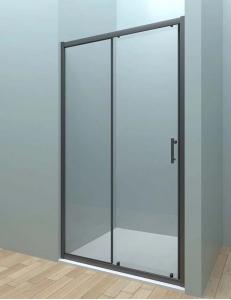 Veconi VN-72 – Душевая дверь в проём, Раздвижная, Алюминий, 6 мм