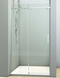 Veconi VN-74 – Душевая дверь в проём, Раздвижная, Алюминий, 8 мм