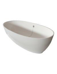 Vincento ALDA – Ванна овальная, отдельностоящая, монолитная