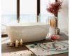 Ванна Salini ALDA – современная овальная ванна из искусственного мрамора