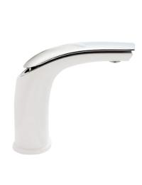 Webert Aria AI830102844 смеситель для раковины без д/клапана, Белый-Хром