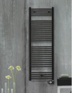Zehnder Aura PBEBZ15060MQ – Электрический полотенцесушитель, черный