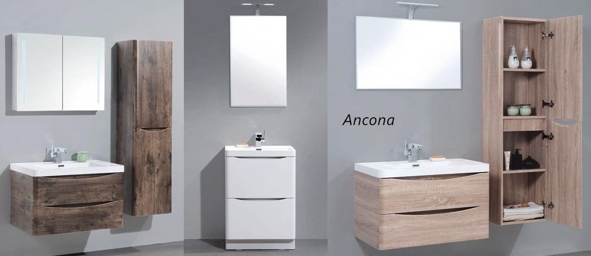 BelBagno Ancona (БельБагно Анкона) - коллекция мебели для ванной