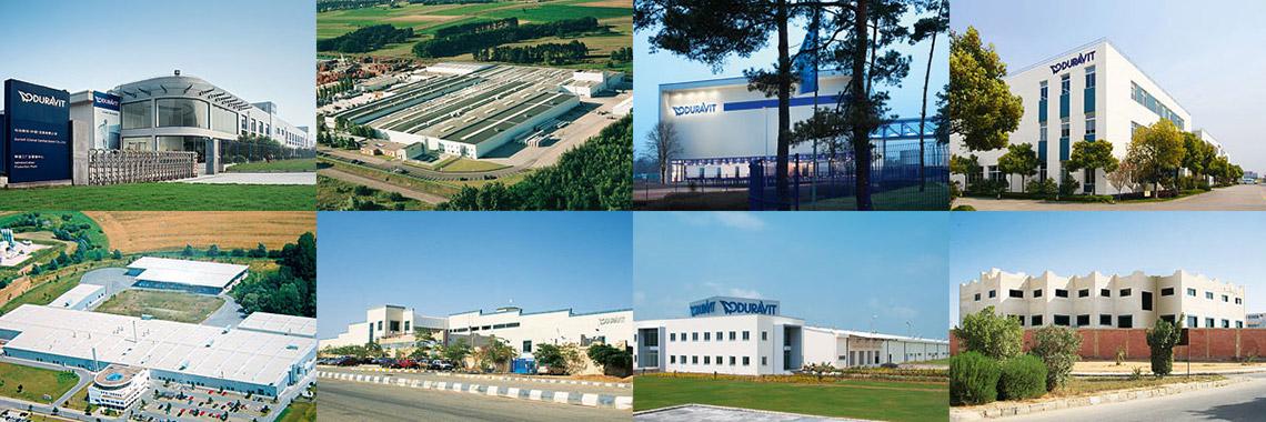 Производственные мощи Duravit