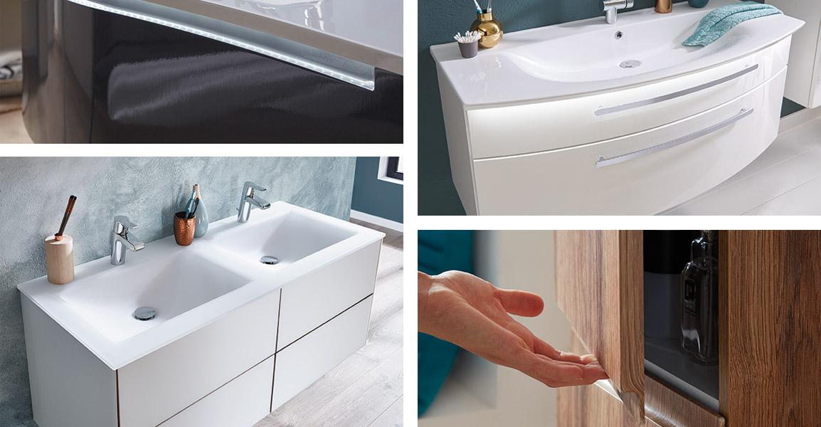 Мебель для ванной Puris Пурис