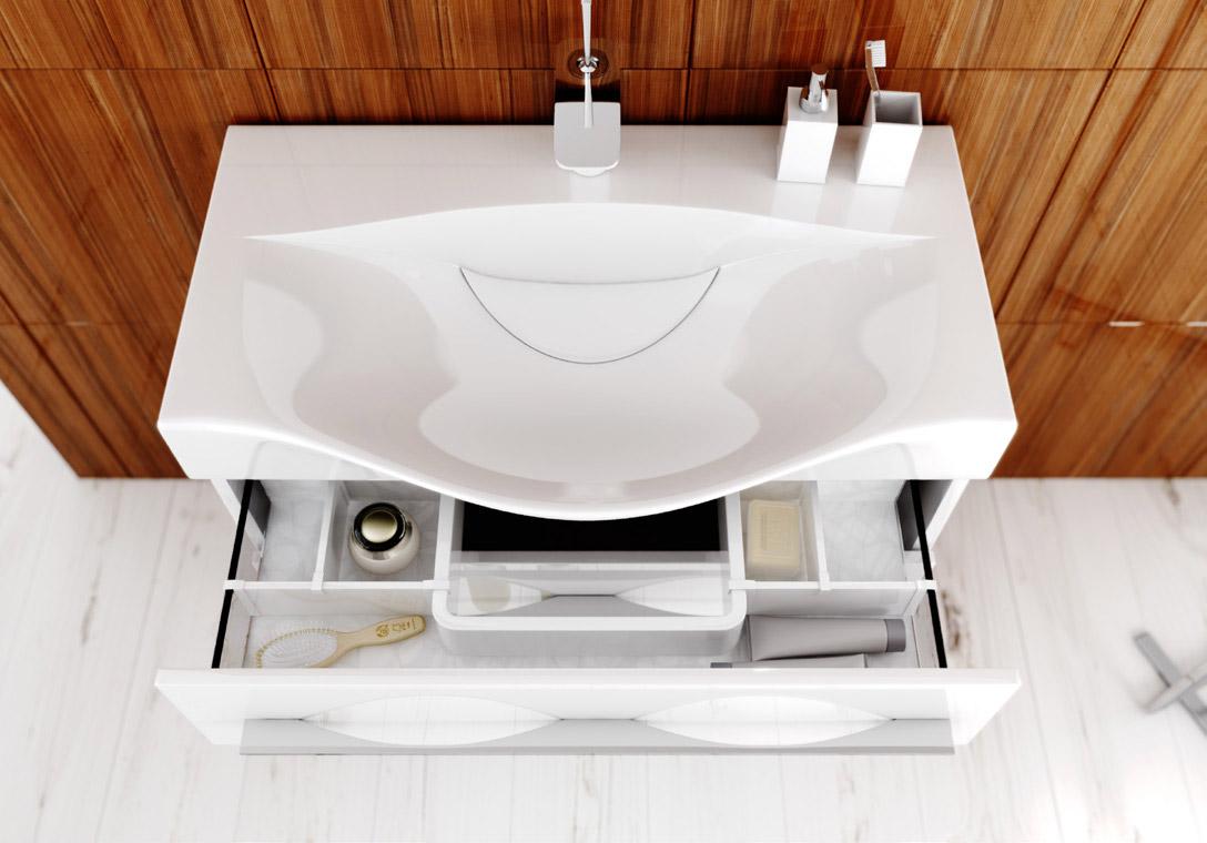 Тумба для ванной AQWELLA MILAN (Аквелла Милан)