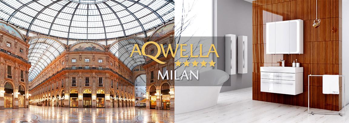 Мебель для ванной AQWELLA MILAN (Аквелла Милан)