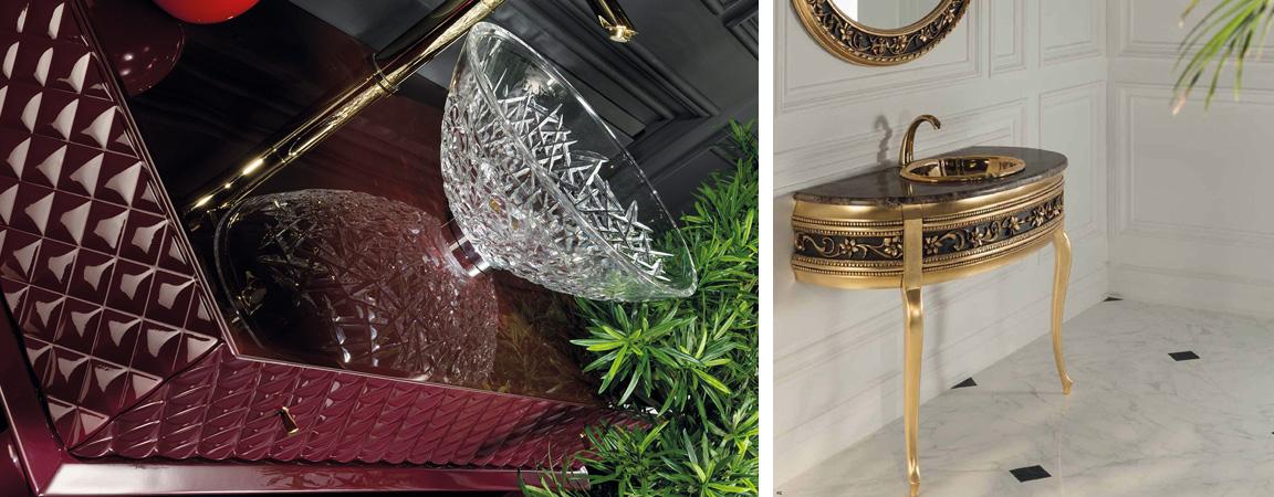 Элитная мебель для ванной Armadi Art