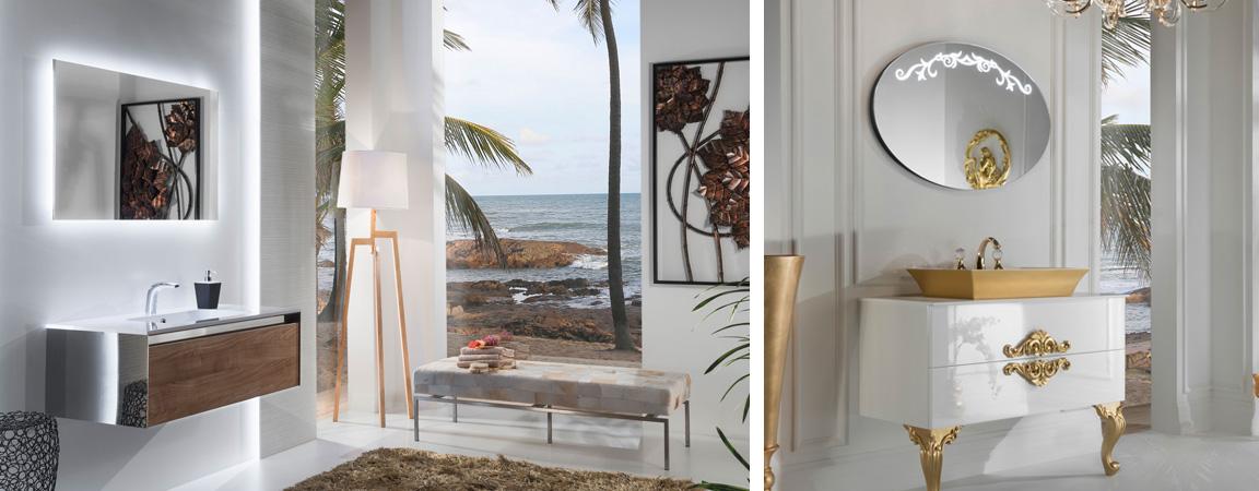 Изысканная мебель для ванной Armadi Art