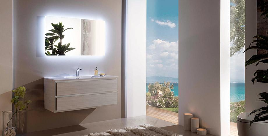 Мебель для ванной Armadi Art Moderno Cube CB с раковиной-столешницей